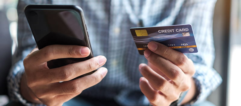 Buying Online with Mobile Phone
